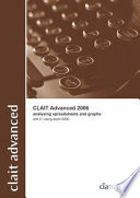 Clait Advanced 2006 Unit 2 Analysing Spreadsheets and Graphs Using Excel 2000