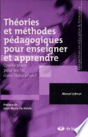 illustration du livre Théories et méthodes pédagogiques pour enseigner et apprendre
