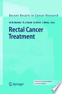 Rectal Cancer Treatment