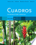 Cuadros Student Text, Volume 1 Of 4: Introductory Spanish : learning experience within an easy-to-use, 4-volume,...