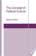 The Concept of Political Culture Book PDF