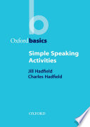 Simple Speaking Activities   Oxford Basics