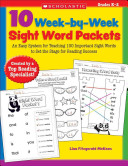 10 Week By Week Sight Word Packets