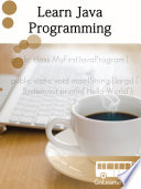 Learn Java Programming -simpleNeasyBook by WAGmob