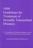 1998 Guidelines For Treatment Of Sexually Transmitted Diseases