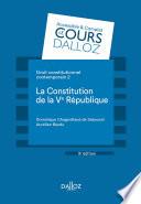 Droit Constitutionnel Contemporain 2 La Constitution De La Ve R Publique 9e D