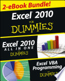 Excel 2010 For Dummies eBook Set