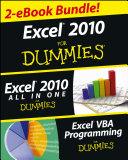Excel 2010 For Dummies eBook Set