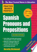 Practice Makes Perfect Spanish Pronouns And Prepositons 2 E Enhanced Ebook