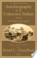 Autobiography of an Unknown Indian: Part II Free download PDF and Read online