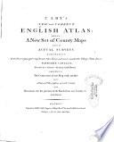 Cary s New and Correct English Atlas