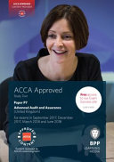ACCA P7 Advanced Audit and Assurance (UK) Our Partnership With Acca Means That