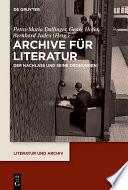 Archive für Literatur