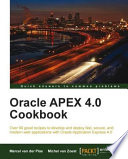 Oracle APEX 4 0 Cookbook