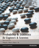 Probability   Statistics for Engineers   Scientists  MyStatLab  Global Edition