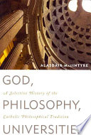 God  Philosophy  Universities