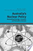 Australia s Nuclear Policy