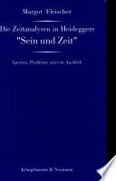 Die Zeitanalysen in Heideggers  Sein und Zeit