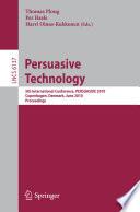 Ebook Persuasive Technology Epub Thomas Ploug,Per Hasle,Harri Oinas-Kukkonen Apps Read Mobile