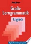 Gro  e Lerngrammatik Englisch