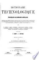 Technologisches W  rterbuch der deutschen  franz  sischen und englischen Sprache