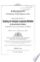 Burkart's Sammlung der wichtigsten europäischen Nutzhölzer in characteristischen Schnitten