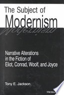 The Subject of Modernism