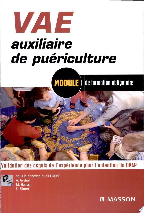 VAE auxiliaire de puériculture.-