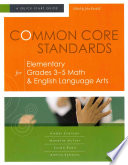 Common Core Standards for Elementary Grades 3 5 Math   English Language Arts