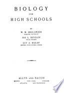 Biology for High Schools