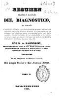 download ebook resumen práctico y razonado del diagnóstico que comprende la inspección, medición, palpación ... pdf epub