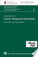 Security Management International