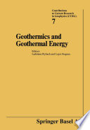 Geothermics and Geothermal Energy