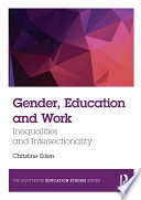 Gender  Education and Work