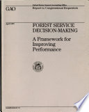 Forest Service Decision Making