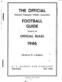 The Official National Collegiate Athletic Association Football Guide