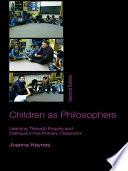 Children as Philosophers