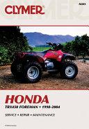 Honda Trx450 Foreman 1998 2004