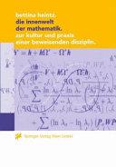 Die Innenwelt der Mathematik