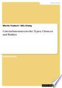 Unternehmensnetzwerke: Typen, Chancen und Risiken