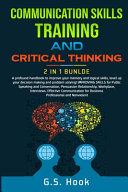 Communication Skills Training And Critical Thinking 2 In 1 Bundle