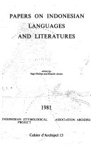 Papers on Indonesian languages and literatures