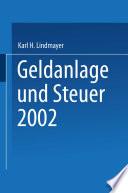 Geldanlage und Steuer 2002
