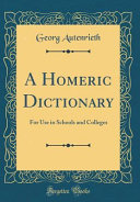 A Homeric Dictionary