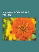 Malazan Book Of The Fallen book