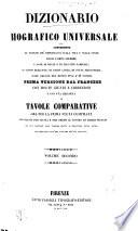 Dizionario biografico universale