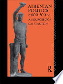 Athenian Politics c800 500 BC