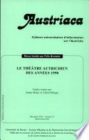 Le théâtre autrichien des années 1990