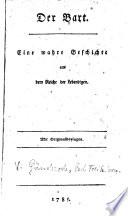 """""""Der"""" Bart. Eine wahre Geschichte aus dem Reiche der Lebendigen"""