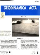 Geodinamica Acta